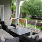 Classic Style Home - Back Patio 1
